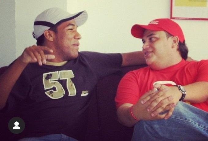 Silvestre Dangond y Kaleth Morales.   FOTO/CORTESÍA.
