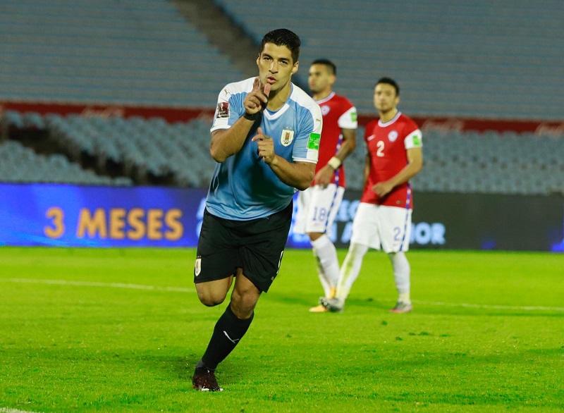Luis Suárez volvió a celebrar por las eliminatorias.  FOTO/CORTESÍA.