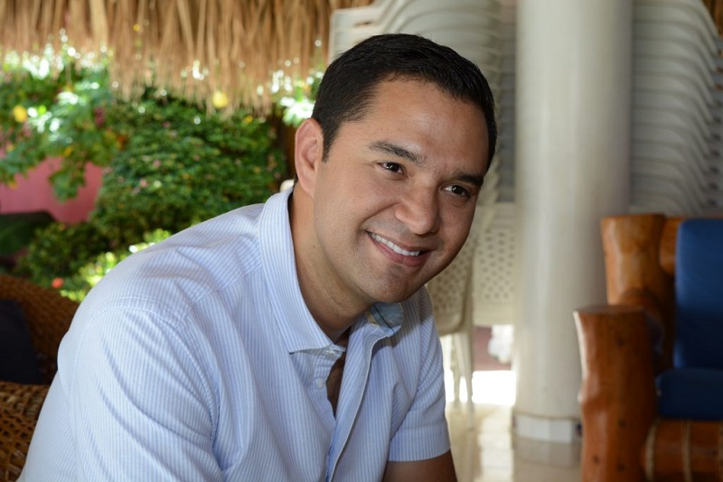 Alcalde de Valledupar, Mello Castro González.   FOTO/CORTESÍA.