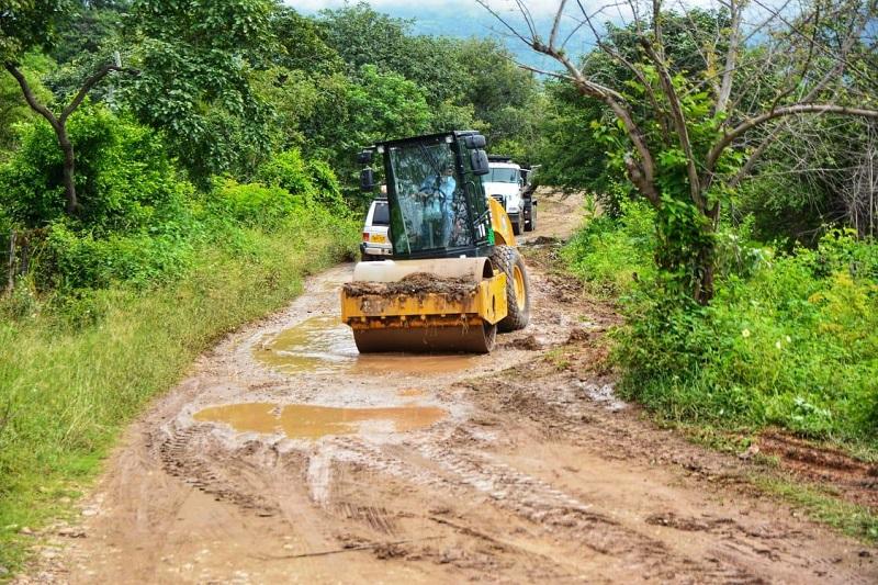 Algunos tramos de vías rurales del municipio de Valledupar serán intervenidos.   Foto: Cortesía/EL PILÓN