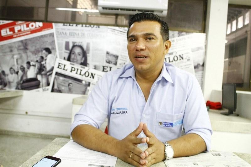 Víctor Mosquera ha expresado el compromiso con esta zona del país, la cual ha sido afectada por la violencia.  FOTO/CORTESÍA.