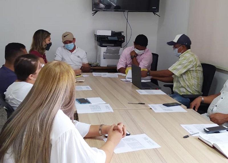 Elección de los directivos del Consejo Territorial de Planeación.   FOTO/CORTESÍA.