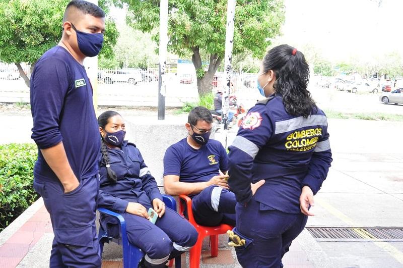 En poco tiempo, según el Consejo de Oficiales, los bomberos tendrán representante legal.   FOTO/JOAQUÍN RAMÍREZ.