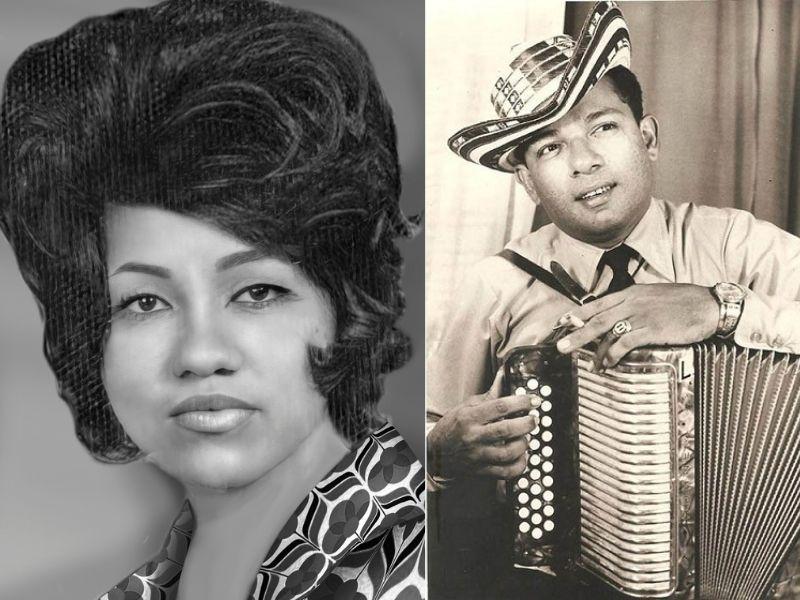 Calixto Ochoa escribió su propia historia teniendo como compañera permanente a su acordeón.   FOTO/CORTESÍA.