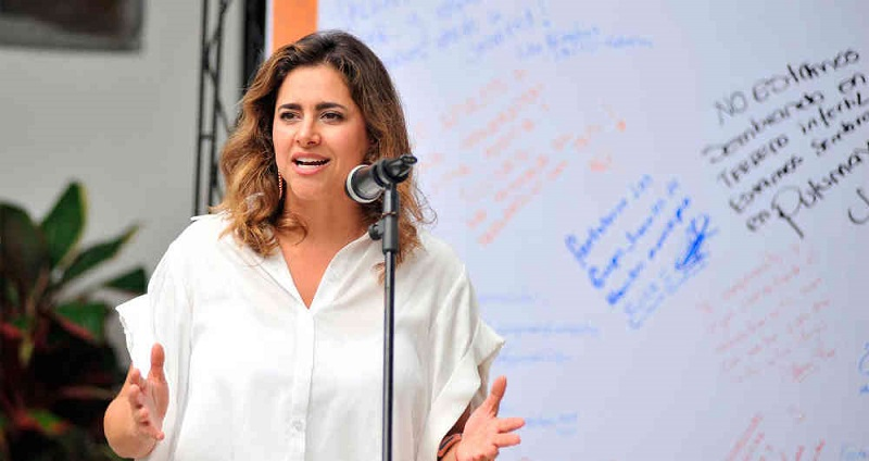María Juliana Ruiz, primera dama. FOTO/CORTESÍA.