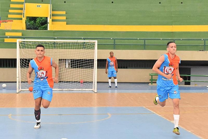 Real Valledupar realizó su último entrenamiento para alistar el equipo que enfrentará a los sucreños.  FOTO/CORTESÍA.