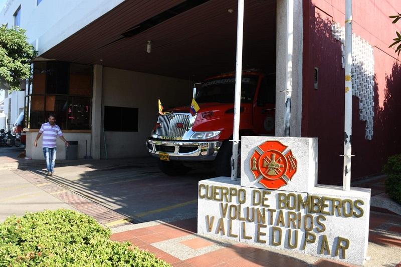En los últimos meses el Cuerpo de Bomberos de Valledupar no ha tenido gasolina para atender las emergencias en la ciudad.   FOTO/JOAQUÍN  RAMÍREZ.