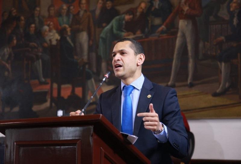 Daniel Palacios Martínez, ministro del Interior.