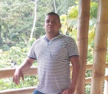Hugo Rafael Calvo, víctima.  FOTO/CORTESÍA.
