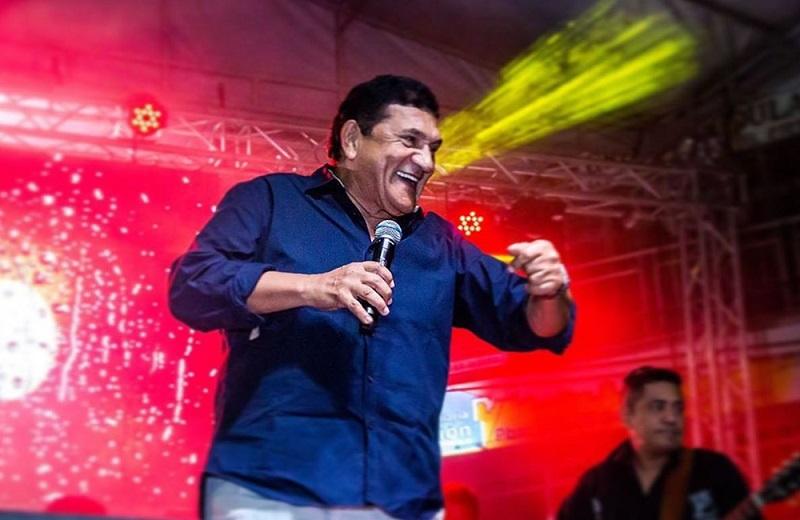 Poncho Zuleta, cantante vallenato.   FOTO/CORTESÍA.