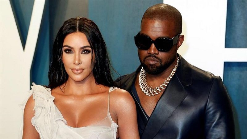 Kim Kardashian y Kanye West.  FOTO/CORTESÍA.