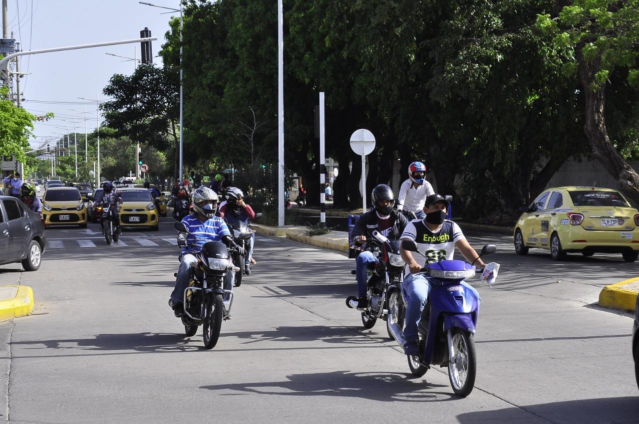 El mototaxismo es uno de los mayores generadores de empleo informal.  FOTO/ARCHIVO.