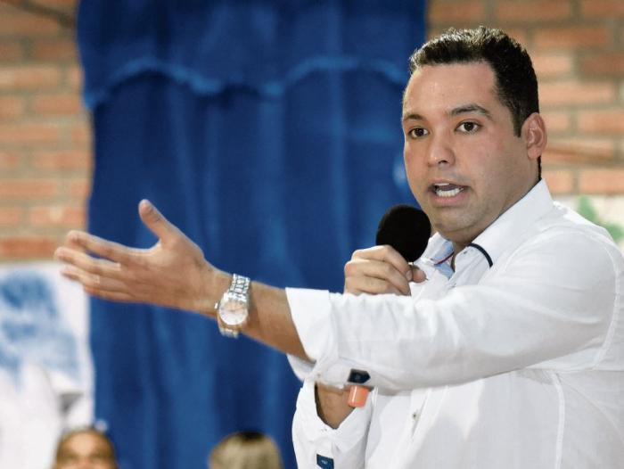 Nemesio Roys, gobernador de La Guajira.  FOTO/CORTESÍA.