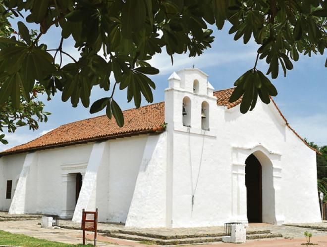 La iglesia data de 1790; fue construida por españoles que llegaron a Valencia de Jesús.   FOTO/ARCHIVO.