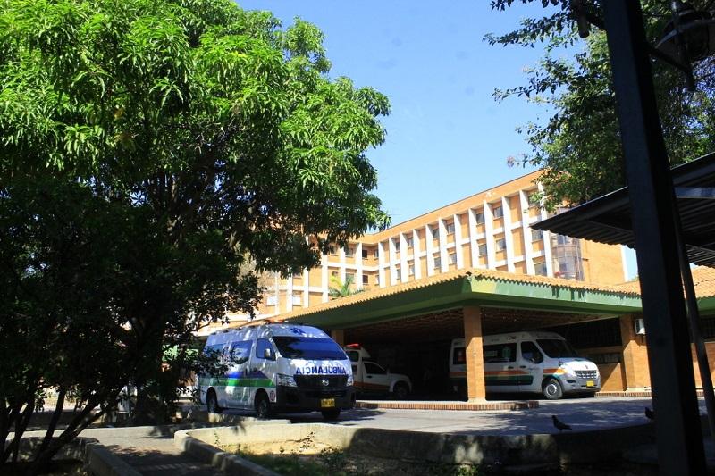 El contrato sindical de los 20 ginecólogos del exsindicato de ginecología y obstetricia  del Hospital Rosario Pumarejo de López, HRPL, no fue renovado para este 2021.  FOTO/JOAQUÍN RAMÍREZ.