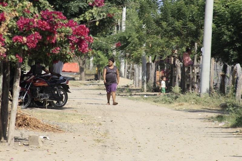 Los Calabazos es una vereda ubicada a 31 kilómetros de Valledupar.   FOTO/JOAQUÍN RAMÍREZ.