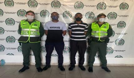 Los detenidos en las instalaciones de la URI. FOTO/CORTESÍA.