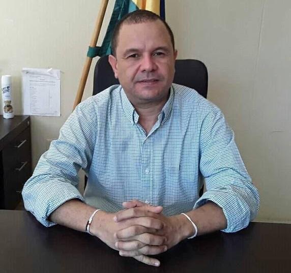 Álvaro Díaz Guerra, alcalde de San Juan del Cesar, La Guajira.   FOTO/CORTESÍA.