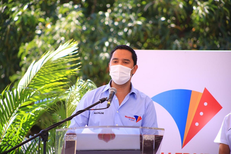 Mello Castro, alcalde de Valledupar.   FOTO/ARCHIVO.