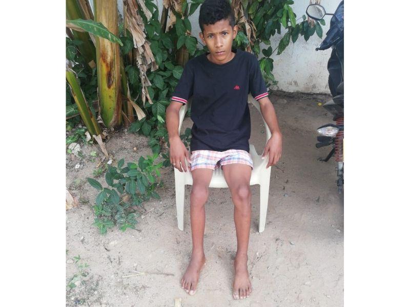 Jesús David Cárdena Mercado, de 14 años.    FOTO/CORTESÍA.