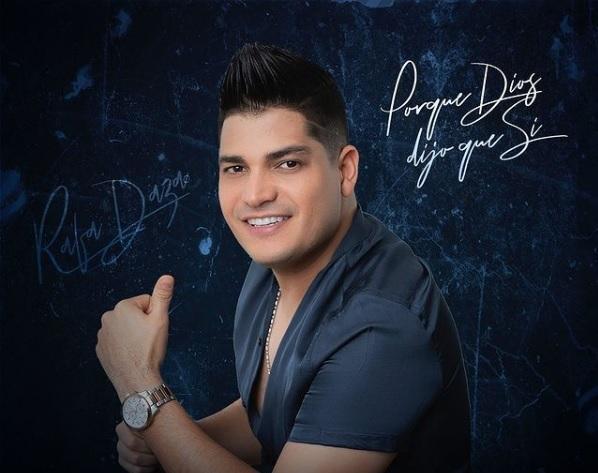 Rafa Daza, cantante de música vallenata.    FOTO/CORTESÍA.