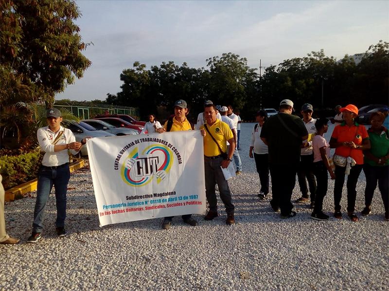 Los sindicatos llamaron a los trabajadores a no unirse al PRV.   FOTO/CORTESÍA.