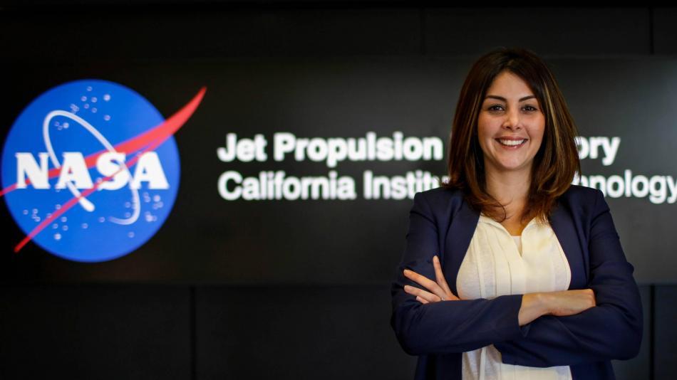 Diana Trujillo, ingeniera colombiana que trabaja en la NASA.  FOTO/CORTESÍA.