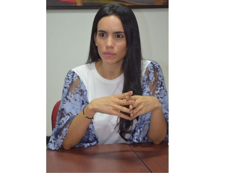 Katrizza Morelli, gerente del SIVA.   FOTO/FABIÁN PINILLOS.