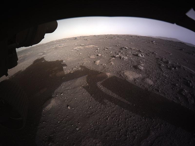 Llegan espectaculares imágenes desde Marte — Rover Perseverance
