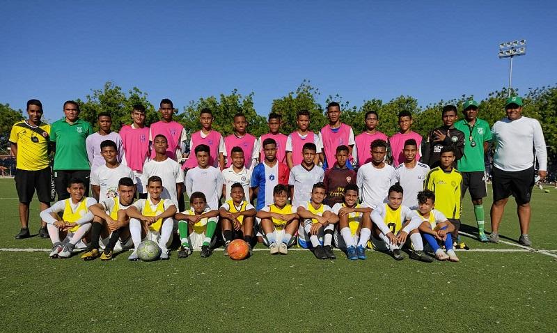 Estos los jugadores que buscarán dejar por lo alto el fútbol cesarense en el Torneo Nacional 2021.  FOTO/CORTESÍA.