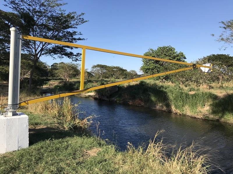 En el río Guatapurí existen dos estaciones de monitoreo de agua.   foto/cortesía.