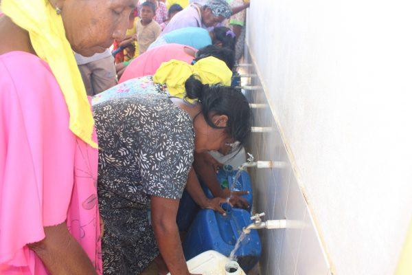 Los siete módulos de pilas públicas beneficiarían a 57.154 personas de La Guajira.   IMAGEN DE REFERENCIA.