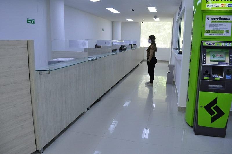 Oficina de Rentas del departamento. FOTO/CORTESÍA.