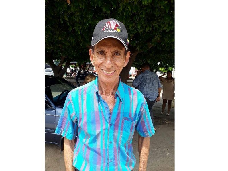 Abel Suárez murió a los 75 años en Valledupar.  FOTO/CORTESÍA.