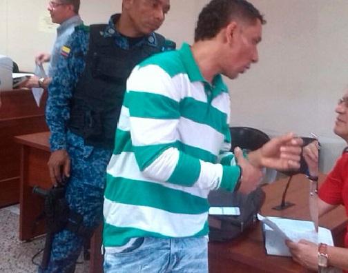 Mario Quijano fue capturado en condición de flagrancia.  FOTO/ARCHIVO.